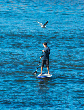 aula privada de Stand Up Paddle