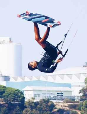 aulas avançadas de kiteboard de grupo