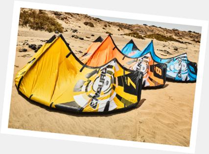 aluguer de material de kitesurf