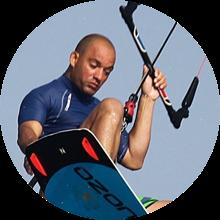 Juliano Brito instrutor de Kitesurf na Waves4life