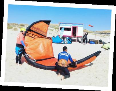 vem aprender kitesurf com a waves4life