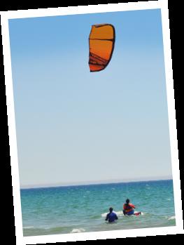 aula de kitesurf waterstart