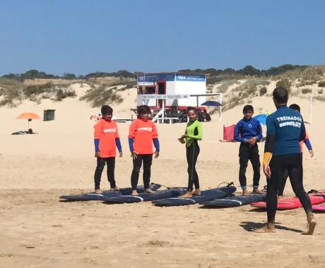 children surf clinic